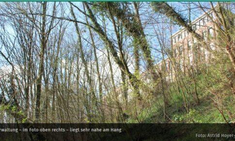 Wie stabil ist der Hang, auf dem die Schwanenburg steht?