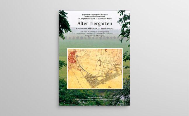 """TAGUNGSBAND """"Klevisches Arkadien Alter Tiergarten"""""""