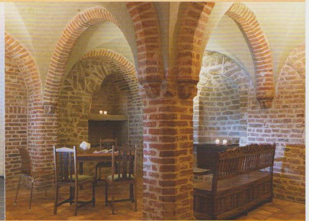 Im Gewölberaum der Schwanenburg heiraten