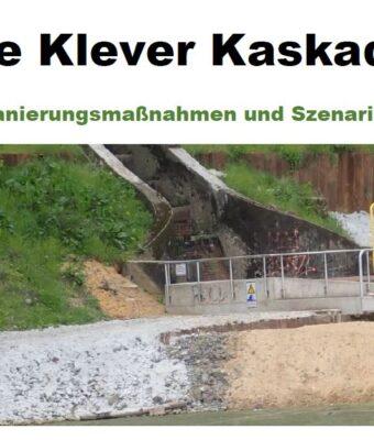 Kaskade: Stefan Schuster bietet einen fachkundigen Rundgang an