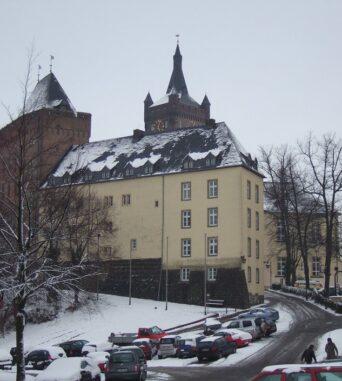 Weihnachtsfest im Burghof der Schwanenburg