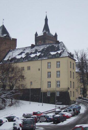 Weihnachtssingen im Burghof der Schwanenburg