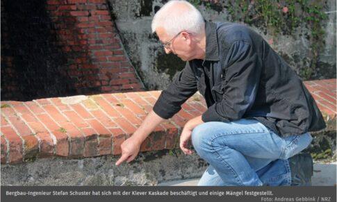 Klever Kaskade: Bergbau-Ingenieur erkennt an Klever Kaskade viele Mängel