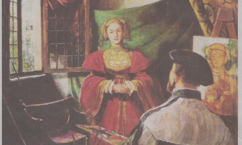 Anna von Cleve: Freudensalut für die neue Königin