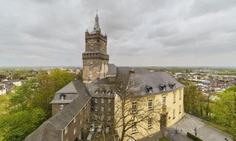 Vision: Schwanenburg und Innenstadt