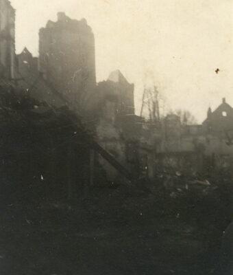 Burgwoche vom 23. September bis 1. Oktober 1950: Der Schwanenturm ist wiederhergestellt!